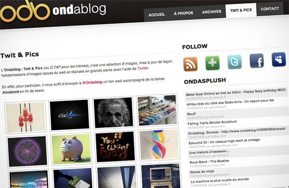 Ondablog : Twit & Pics